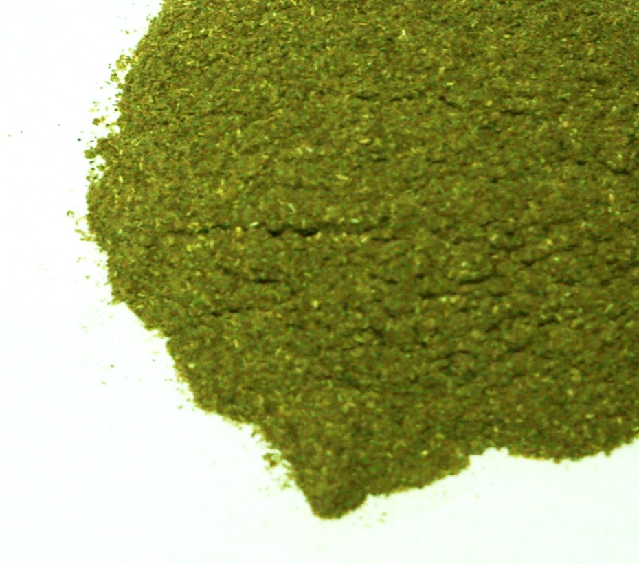 how to use alfalfa leaf powder